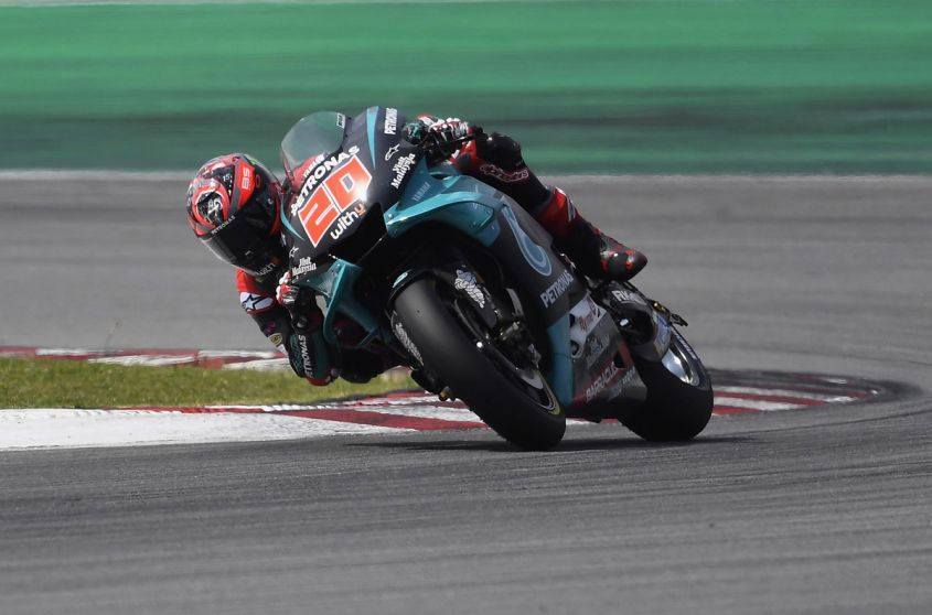 Quartararo in pole position a Jerez