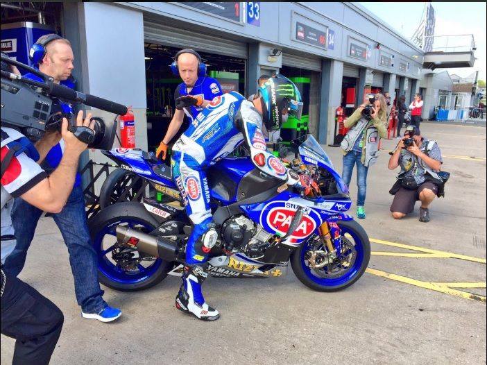 SBK Donington 2016, Beaubier