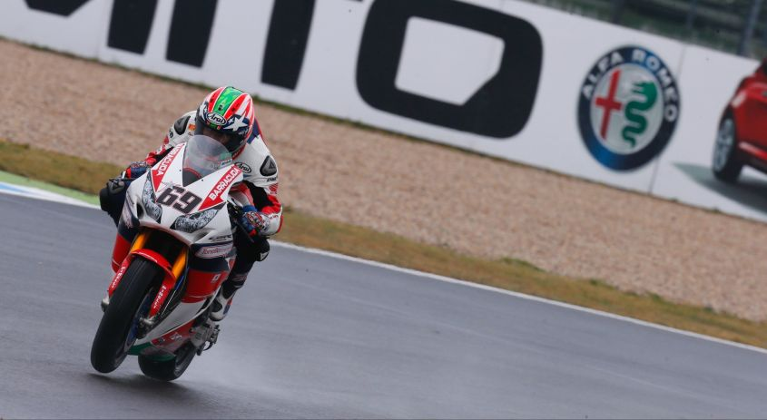 SBK Germania 2016, Nicky Hayden