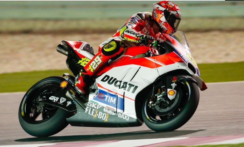 Test MotoGP 2016 Qatar, the Maniac