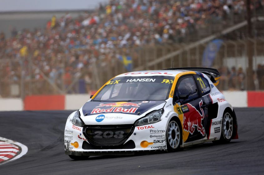 WRX 2017: team Peugeot Hansen al secondo posto della classifica Team