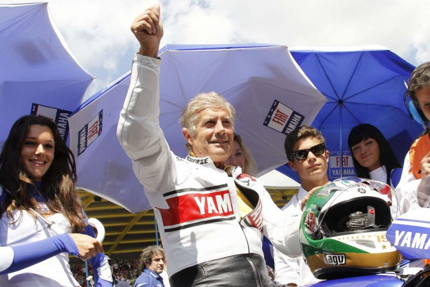 Giacomo Agostini e John Surtees nella Hall of Fame