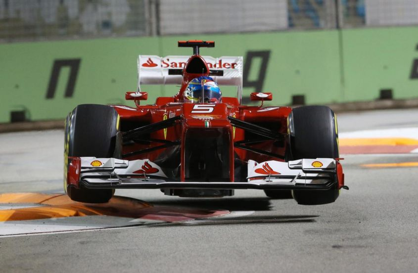 GP Singapore F1 2012, Ferrari: Alonso crede nel podio