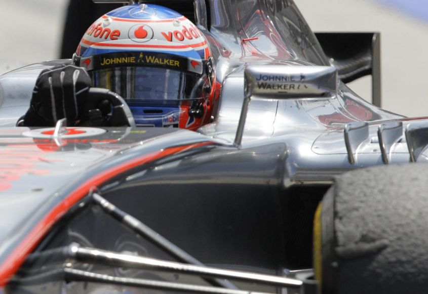 GP Belgio F1 2012, qualifiche: Button in pole position! Ferrari 6a con Alonso