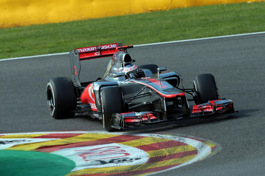 GP Belgio F1 2012, Button in pole position: ma quanti brutti avversari!