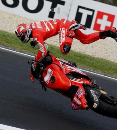 Motogp 2007: meno incidenti del 2006
