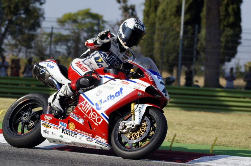 Superbike test Philip Island 2012, day 2: Checa torna leader, Biaggi terzo