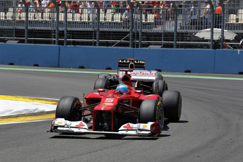 GP Valencia F1 2012, Alonso e Ferrari: perfezione e fortuna! [VIDEO]