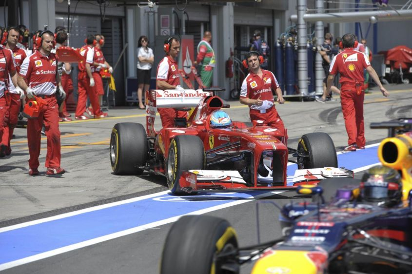 "GP Germania F1 2013, classifica piloti amara per Alonso: ""La Ferrari c'è comunque!"" [FOTO]"