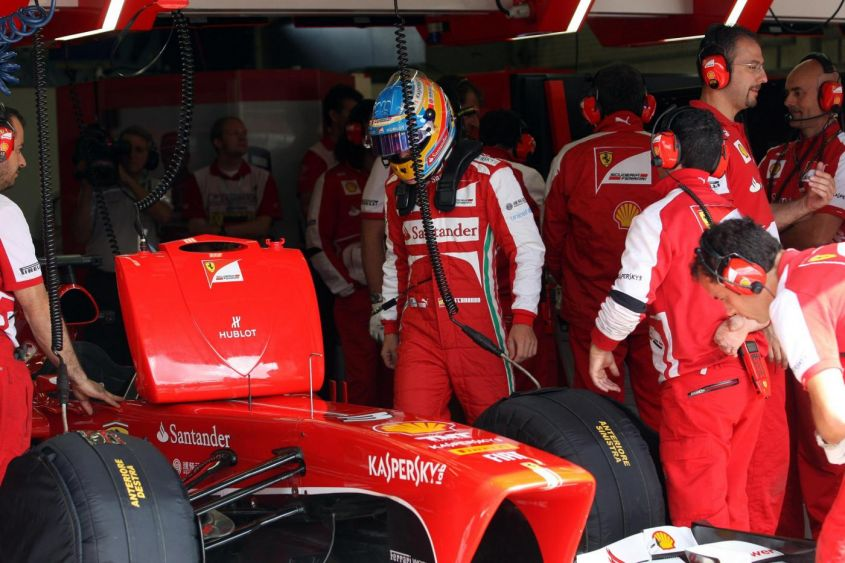 GP Germania F1 2013, Ferrari: tattica ad alto rischio in qualifica! I commenti di Alonso e Massa [FOTO]