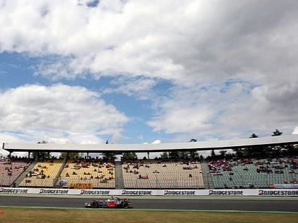 GP di Germania F1, Hamilton in pole positon