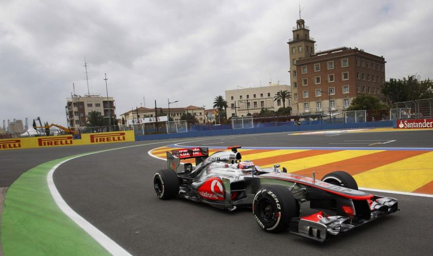 GP Valencia F1 2012, prove libere 3: Button primo davanti alle due Lotus