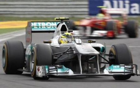 F1 2012: Mercedes studia un F-Duct all'anteriore