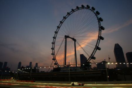 F1 TV: orario e meteo GP Singapore 2010