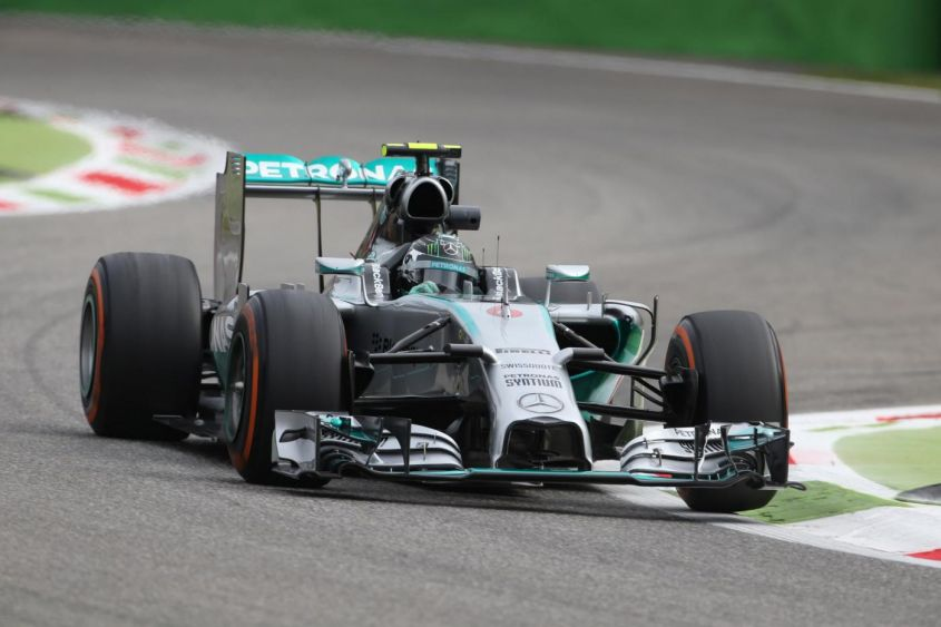 GP Monza F1 2014, Mercedes: Rosberg scontento del long run