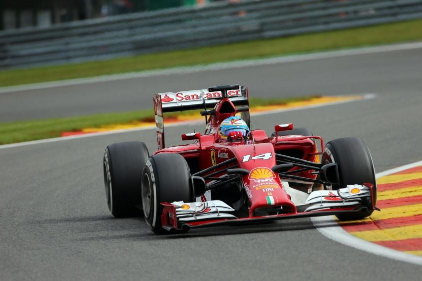 "GP Belgio F1 2014, Ferrari e Williams in lotta. Alonso: ""Non possiamo fare magie"""