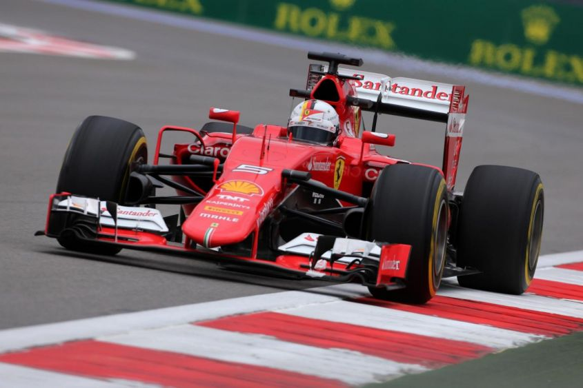 Image result for vettel russian gp 2015