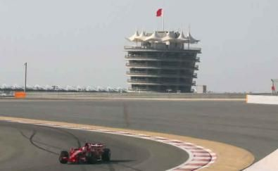 Test F1 in Bahrain del 05-02-2008: Ferrari e Toyota al lavoro in disparte