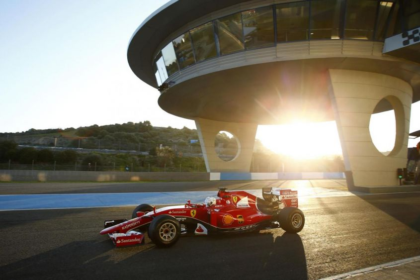 Test F1 2015 Jerez: classifica tempi assoluti e distanze coperte