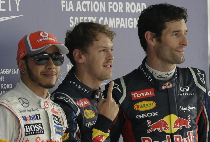 GP USA F1 2012, qualifiche: Vettel in pole position, flop Ferrari con Alonso 8°